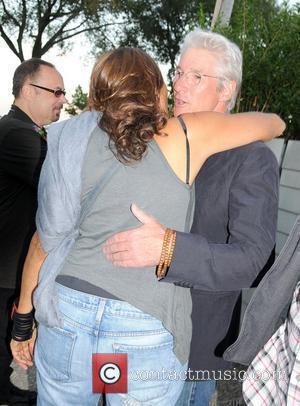 Richard Gere and Donna Karen