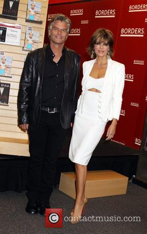 Lisa Rinna, Harry Hamlin, Full Frontal