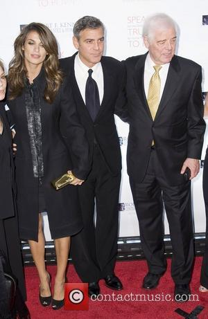 Elisabetta Canalis, George Clooney, Justice, Nick Clooney and Robert F Kennedy