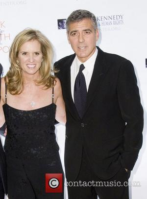 George Clooney, Justice, Kerry Kennedy and Robert F Kennedy