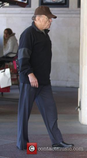 Robert Duvall spends the day at The Grove with his wife Los Angeles, California - 13.11.10