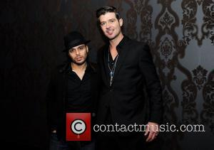 Richie Akiva and Robin Thicke
