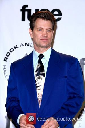 Chris Isaak 25th Annual Rock And Roll Hall Of Fame Induction Ceremony - Press Room at the Waldorf Astoria hotel...