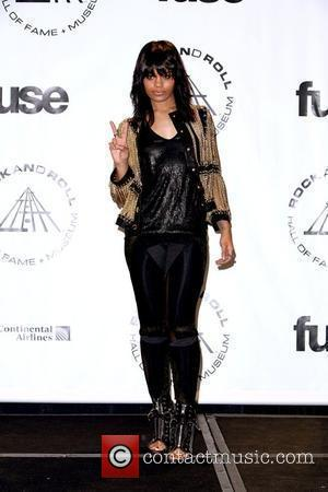 Fefe Dobson 25th Annual Rock And Roll Hall Of Fame Induction Ceremony - Press Room at the Waldorf Astoria hotel...