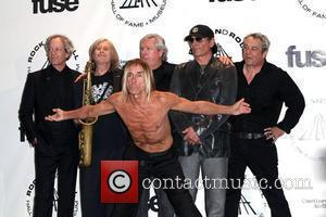 Inductees James Williamson, Iggy Pop and Rock And Roll Hall Of Fame