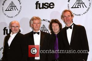 Inductees Phil Collins, Phil Collins and Rock And Roll Hall Of Fame