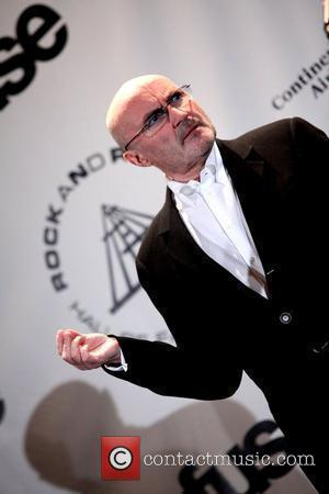Phil Collins and Rock And Roll Hall Of Fame