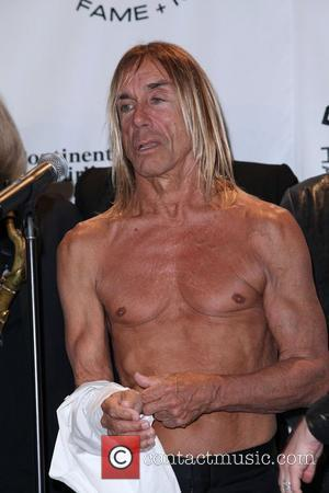 Iggy Pop 25th Annual Rock And Roll Hall Of Fame Induction Ceremony - Press Room at the Waldorf Astoria hotel...