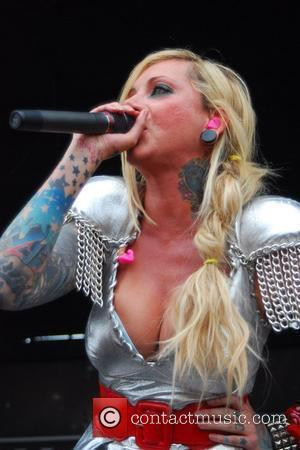 In This Moment The 2010 RockStar Energy Drink Mayhem Festival. Chicago, Illinois - 30.07.10
