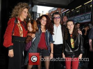 Bill Wyman and family The UK premiere of 'Ladies And Gentlemen... The Rolling Stones' - held at the Curzon Soho....