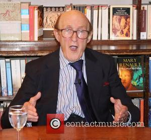 Ron Moody  Ron Moody attends a book signing for his new book 'A Still Untitled (Not Quite) Autobiography' at...