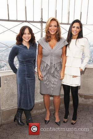 Rosie Perez, Daniella Rich, Denise Rich and Gabrielle
