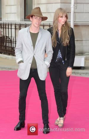 Johnny Borrell and Edie Campbell Royal Academy Summer Exhibition 2010 - VIP private view held at the Royal Academy Of...