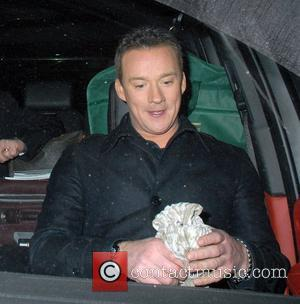 Russell Watson,  The Royal Variety Performance at the London Palladium - Departures London, England - 09.12.10