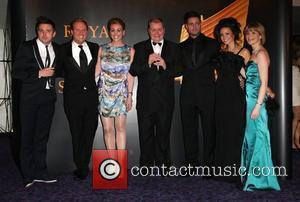 Antony Cotton, Suranne Jones, Keith Duffy, Michelle Keegan, Jane Danson and Katherine Kelly The Royal Television Society Awards 2010 (RTS...