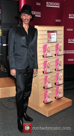 Rupaul promotes his new book ''Workin' It!' at the Borders Books & Music in Columbus Circle. New York City, USA...