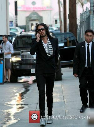 Russell Brand and Jimmy Kimmel