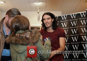 Russell Brand  meets fans and signs copies of his new book 'Booky Wooky 2' at Liverpool Waterstones bookstore. Liverpool,...