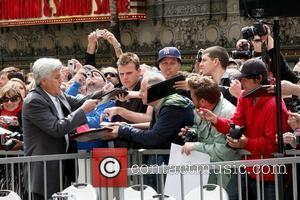 Jay Leno Russell Crowe is honoured with the 2404th star on the Hollywood Walk of Fame Los Angeles, California -...