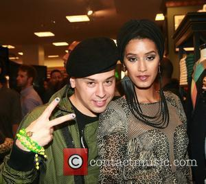Indashio, Jaslene Gonzalez and Russell Simmons