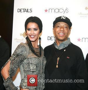 Russell Simmons and Jaslene Gonzalez