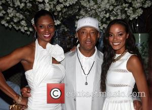 Russell Simmons and Selita Ebanks
