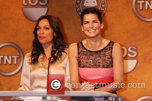 Rosario Dawson and Angie Harmon