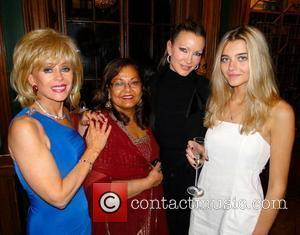 Sally Farmiloe, Guest, Caprice Bourret and Jade Farmiloe  Sally Farmiloe's auction in aid of Today & Tomorrow at University...