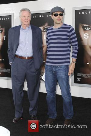Jon Voight and Son James Haven