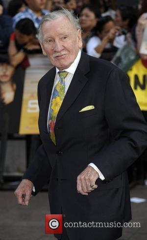 Leslie Phillips Salt - UK film premiere held at the Empire Leicester Square - Arrivals. London, England - 16.08.10