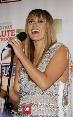 Grace Potter  'VH1 Divas Salute the Troops' presented by the USO at the MCAS Miramar - Press Room San...