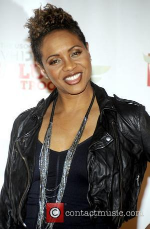 MC Lyte 'VH1 Divas Salute the Troops' presented by the USO at the MCAS Miramar - Press Room San Diego,...