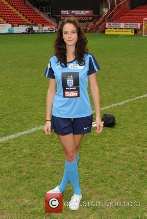 Kaya Scodelario Celebrity Soccer Six 2010 - Charlton Athletic FC, The Valley.  London, England - 31.05.10
