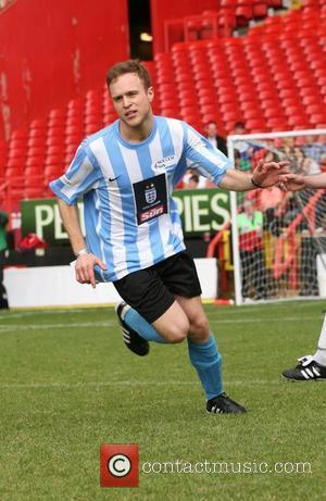 Olly Murs Celebrity Soccer Six 2010 - Charlton Athletic FC, The Valley.  London, England - 31.05.10