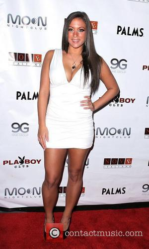 Sammi Giancola Sammi Giancola Parties Jersey Shore Style at Moon Nightclub at The Palms Hotel Casino  Las Vegas, Nevada...