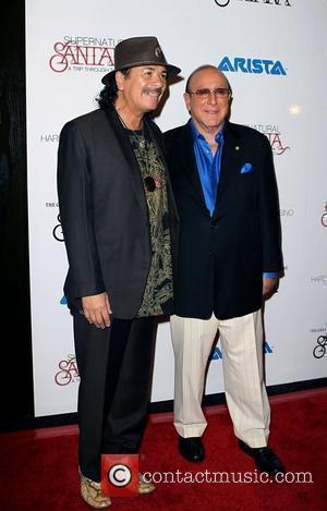 Carlos Santana, Clive Davis and Las Vegas