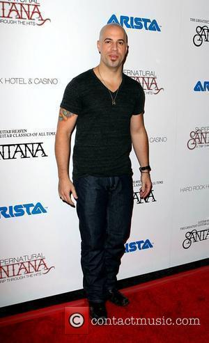 Chris Daughtry  Santana Celebrates New Album Guitar Heaven At The Hard Rock Hotel & Casino Las Vegas, Nevada -...