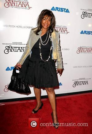Mary Wilson  Santana Celebrates New Album Guitar Heaven At The Hard Rock Hotel & Casino Las Vegas, Nevada -...