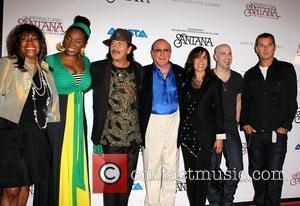Mary Wilson, Carlos Santana, CHRIS DAUGHTRY, Clive Davis, Gavin Rossdale, Las Vegas and Olivia Harrison