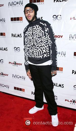 Travie McCoy Sasha Grey hosts at the Playboy Club and Travie McCoy hosts at Moon Nightclub at the Palms Hotel...