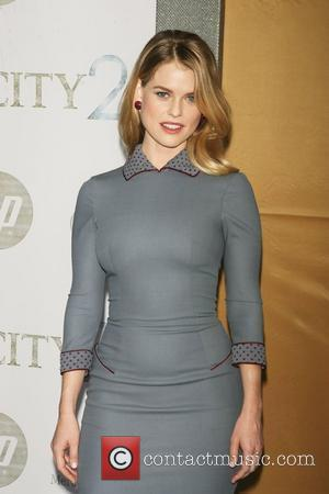 Alice Eve  World premiere of 'Sex and the City 2' at Radio City Music Hall - Arrivals New York...