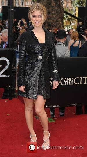 Alice Eve 'Sex and the City 2' UK film premiere held at the Odeon Leicester Square. London, England - 27.05.10