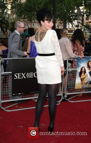 Gizzi Erskine 'Sex and the City 2' UK film premiere held at the Odeon Leicester Square. London, England - 27.05.10