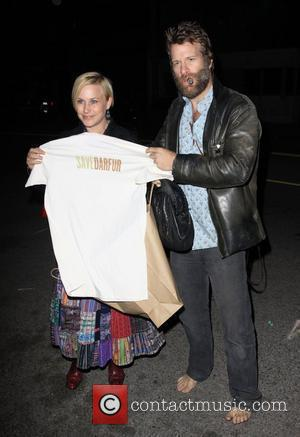 Patricia Arquette and husband Thomas Jane Official Launch Party for Save Darfur Coalition and Propr held at The Propr Store...