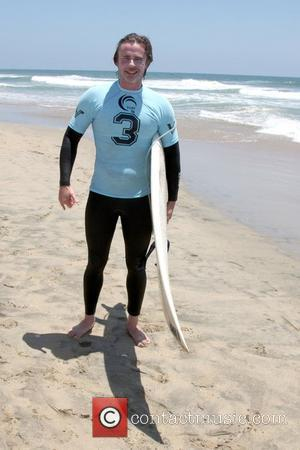 Sam Trammell participates in the 3rd Annual Project SOS: SURF 24 - Day 1 at Huntington Beach Pier, CA Huntington...