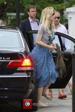 Claudia Schiffer and Matthew Vaughn