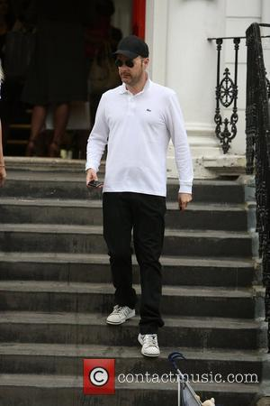 Matthew Vaughn after dropping his children at school on the last day of term London, England - 08.07.10