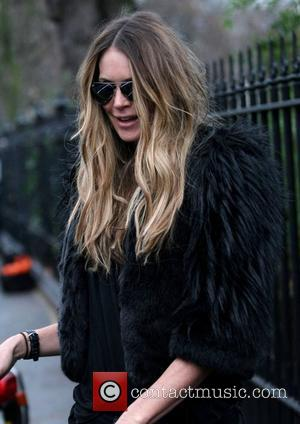 Elle Macpherson after dropping her kids at school London, England - 20.01.11