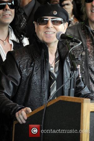 Klaus Meine and Scorpions