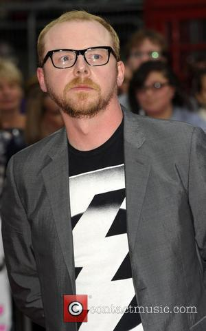 Simon Pegg, Empire Leicester Square